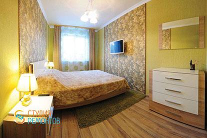 Евроремонт спальни 14 кв.м.