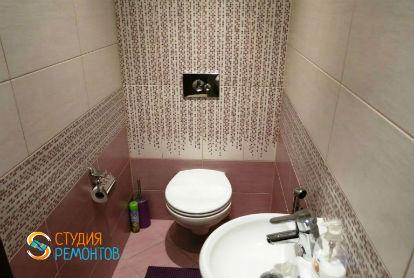 Евроремонт туалета 1,7 кв.м.