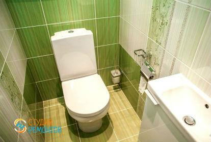Евроремонт туалета 2,2 кв.м.
