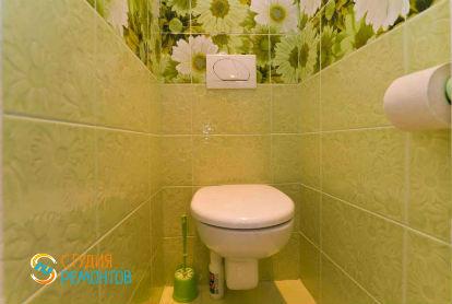 Евроремонт туалета 2,3 кв.м.