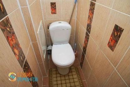 Евроремонт туалета 2,4 кв.м.