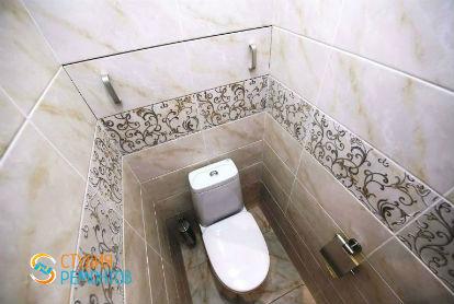 Евроремонт туалета 2,5 кв.м.