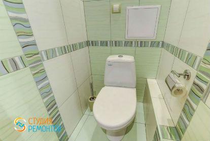 Евроремонт туалета 2,8 кв.м.