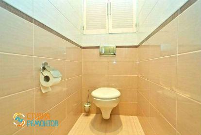 Евроремонт туалета 3 кв.м.