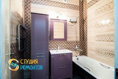 Евроремонт ванной 3,5 м2 фото-1