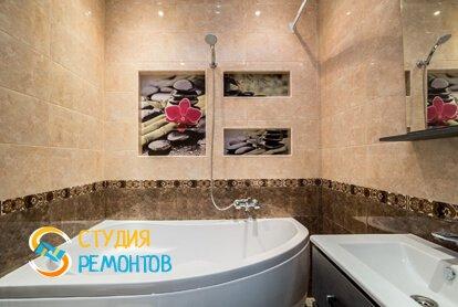Евроремонт ванной 4 кв.м. фото-1