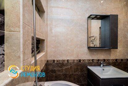 Евроремонт ванной 4 кв.м. фото-2