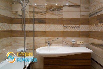 Евроремонт ванной 3.5 кв.м.
