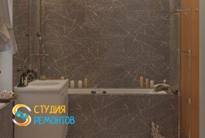 Евроремонт ванной 2,5 кв.м.