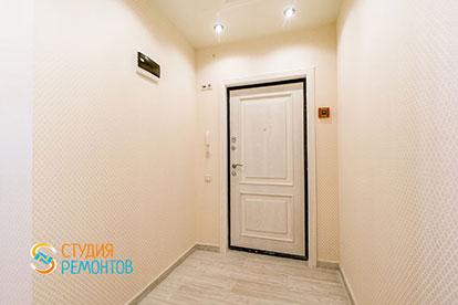 Евроремонт прихожей в двухкомнатной квартире 46 метров