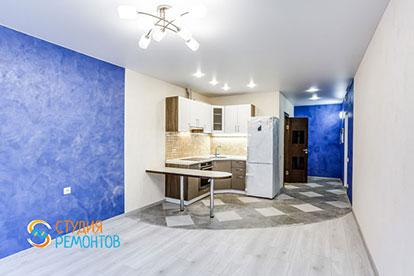 Косметический ремонт кухни в квартире-студии 20 м2, фото-2