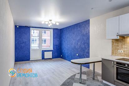 Косметический ремонт кухни в квартире-студии 20 м2, фото-1
