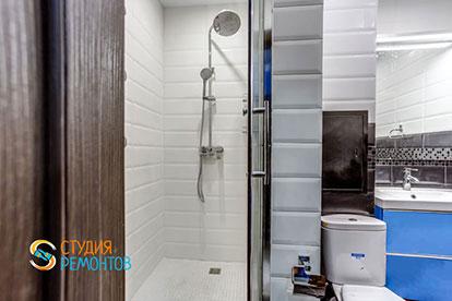 Косметический ремонт совмещённого санузла в квартире-студии 20 м2, фото-2