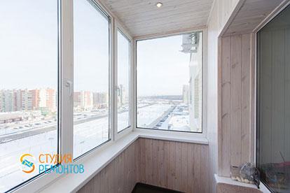 Капитальный ремонт балкона 2,5 кв.м.