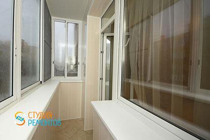 Капитальный ремонт балкона 2 кв.м.