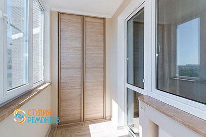 Капитальный ремонт балкона 3 кв.м.