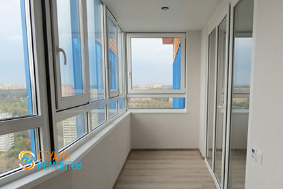 Капитальный ремонт балкона 4,5 кв.м.
