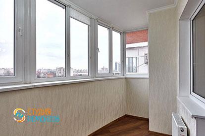 Капитальный ремонт балкона 4 кв.м.