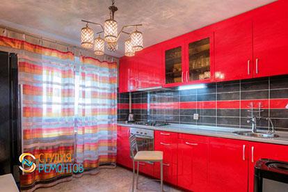 Капитальный ремонт кухни в двухкомнатной квартире 39 кв. м.