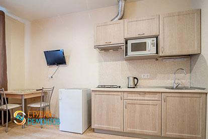 Капитальный ремонт кухни в однокомнатной квартире 18 кв. м.