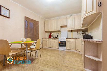 Капитальный ремонт кухни в однокомнатной квартире 27 кв. м.