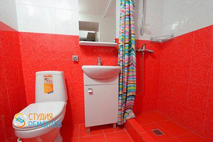 Капитальный ремонт санузла в двухкомнатной квартире 39 кв. м.