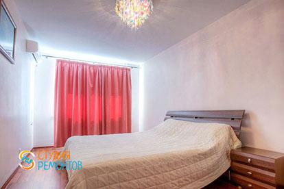 Капитальный ремонт спальни в двухкомнатной квартире 39 кв. м.