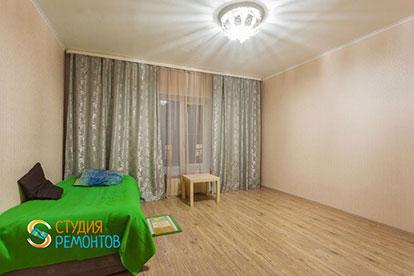 Капитальный ремонт спальни в однокомнатной квартире 27 кв. м.