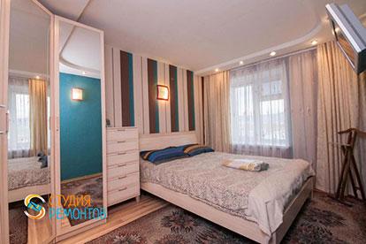 Капитальный ремонт спальни 11 кв.м.