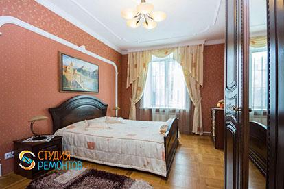 Капитальный ремонт спальни 17 кв.м.