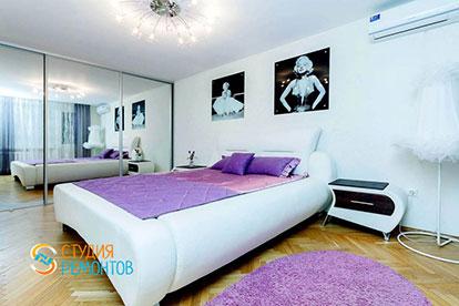 Капитальный ремонт спальни 18 кв.м.
