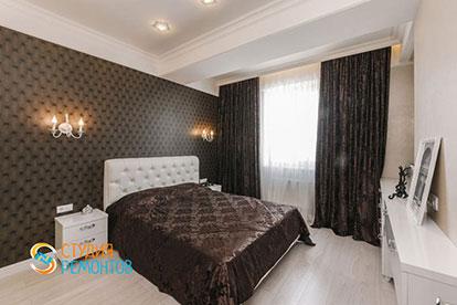 Капитальный ремонт спальни 19 кв.м.