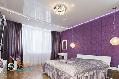 Капитальный ремонт спальни 22 кв.м.