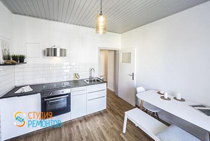 Капитальный ремонт кухни в 1-к квартире 32 кв.м., фото-1