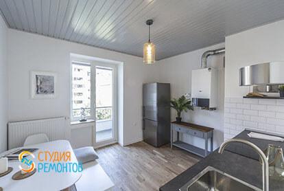 Капитальный ремонт кухни в 1-к квартире 32 кв.м., фото-2