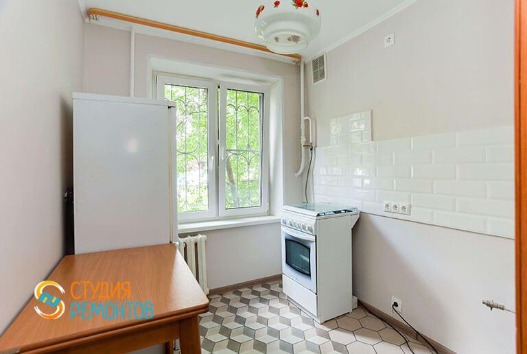 Капитальный ремонт кухни в однокомнатной квартире 30 кв.м.