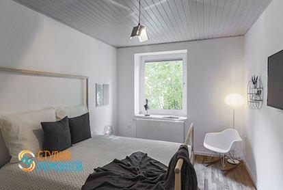 Капитальный ремонт спальни в 1-к квартире 32 кв.м.