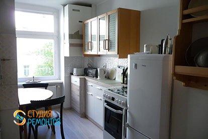 Капремонт кухни в однокомнатной квартире 30 м2