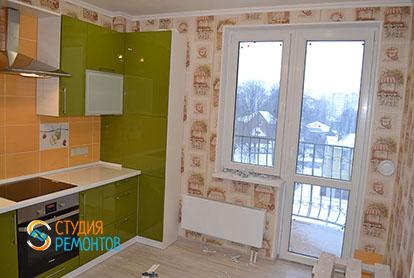 Капитальный ремонт кухни в двухкомнатной квартире 41 кв.м., фото-1