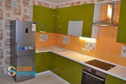 Капитальный ремонт кухни в двухкомнатной квартире 41 кв.м., фото-2