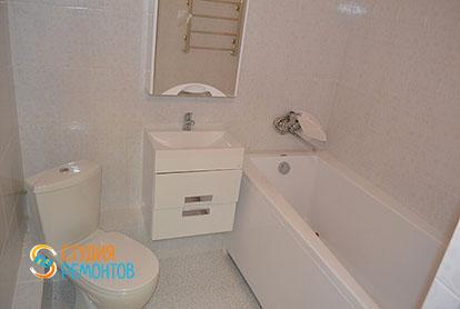 Капитальный ремонт санузла в двухкомнатной квартире 41 кв.м.