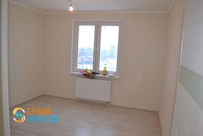 Капитальный ремонт спальни в двухкомнатной квартире 41 кв.м.