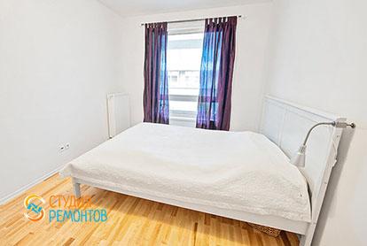 Капиталный ремонт спальни в евродвушке 38 м2, фото-1