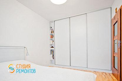 Капиталный ремонт спальни в евродвушке 38 м2, фото-2
