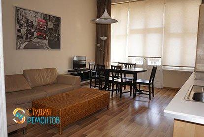 Ремонт кухни в квартире-двушке 48,5 кв.м.