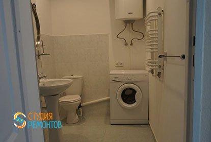 Ремонт санузла в квартире-двушке 48,5 кв.м.