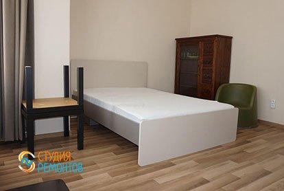 Ремонт спальни в квартире-двушке 48,5 кв.м.
