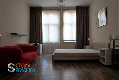 Ремонт жилой комнаты в квартире-двушке 48,5 кв.м.