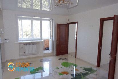 Капитальный ремонт комнаты и кухни в трехкомнатной квартире 54 кв.м., фото-2