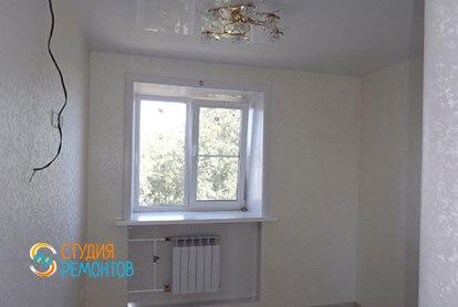 Капитальный ремонт жилой комнаты в трехкомнатной квартире 54 кв.м.